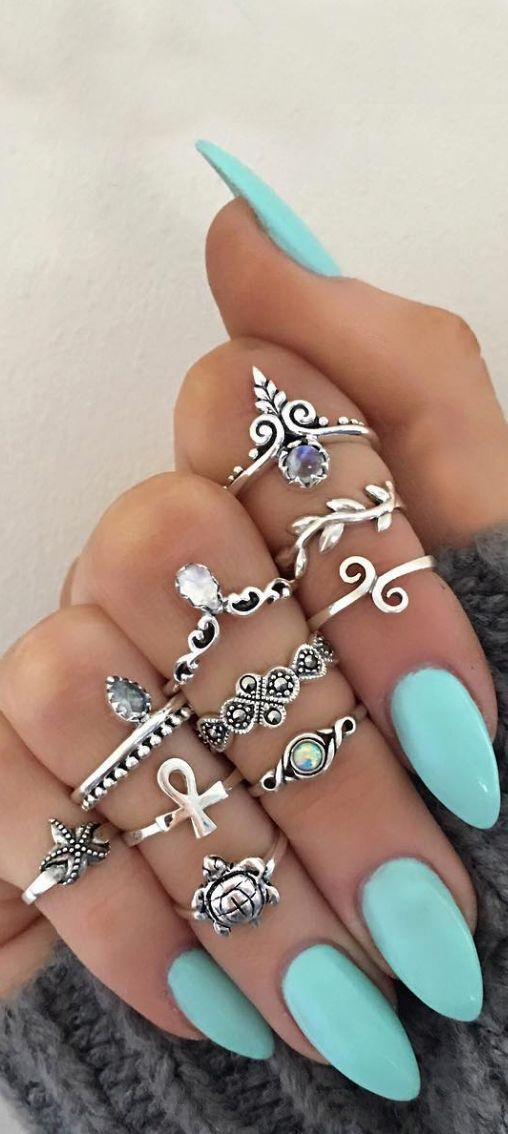 Stylish-Bohemian-Rings