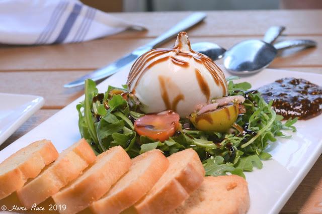 Boca Oyster Bar Boca Burrata Salad