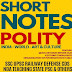 India World and Art & Culture Polity Short Notes Download For UPSC and PCS Exams