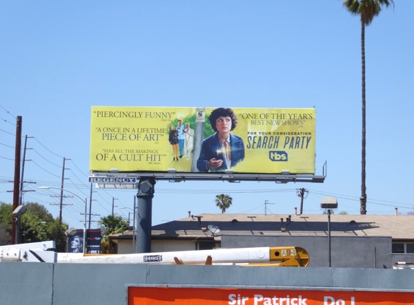 Search Party 2017 Emmy FYC billboard