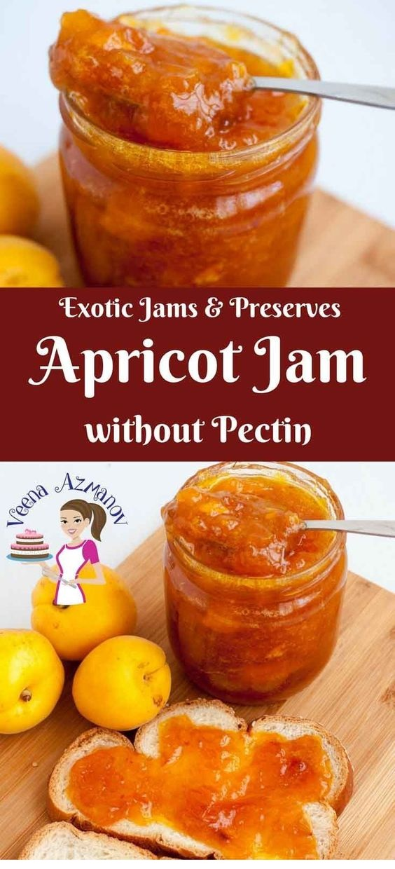 Homemade Apricot Jam Without Pectin