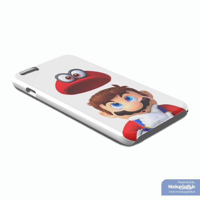 Mockup Custom Case iPhone 6 Plus / 6s Plus Gratis