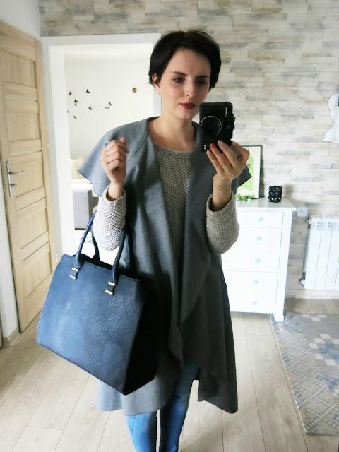 Płaszczyk / narzutka ze sklepu SheIn + życzenia oraz propozycje na Dzień Kobiet :)