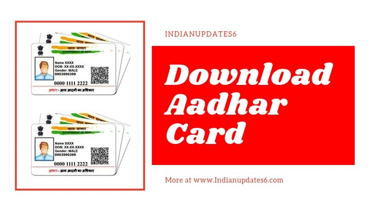 Download Your Aadhar Card for free