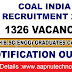 Coal India Limited Recruitment 2020 - Apply Online for 1326 Management Trainee Vacancy
