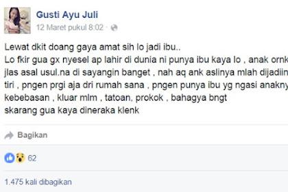 Cewek ABG Labil Hujat Ibunya di Facebook