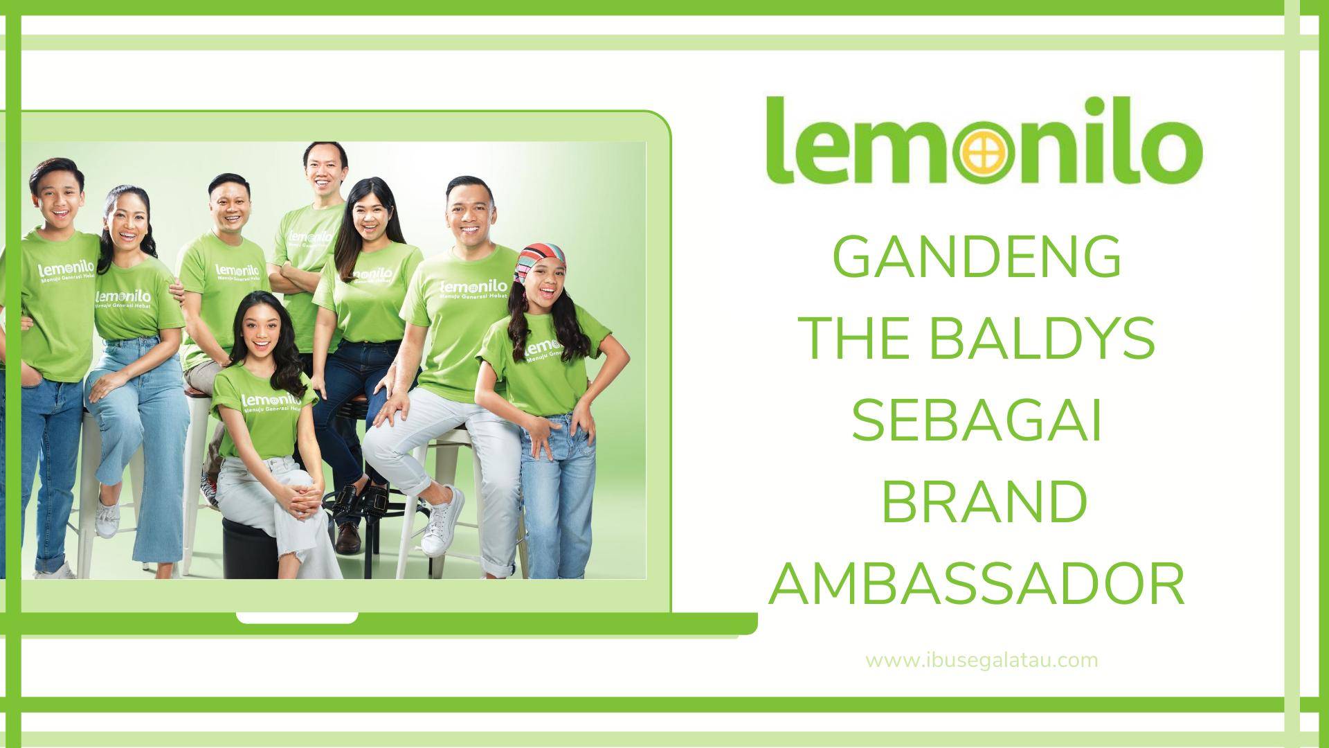 Lemonilo Gandeng The Baldys sebagai Brand Ambassador