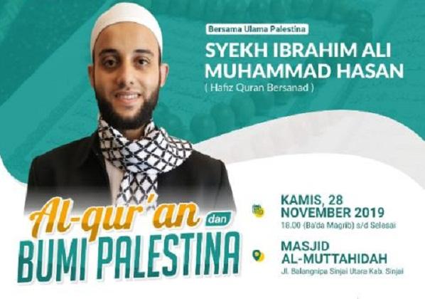 Kasih Palestina Sulsel Gelar Tablig Akbar Undang Syekh Ibrahim Ali Muhammad Hasan