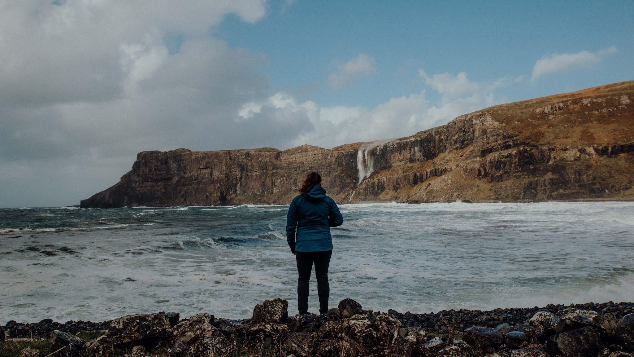Talisker Beach, Isle of Skye liquid grain scotland