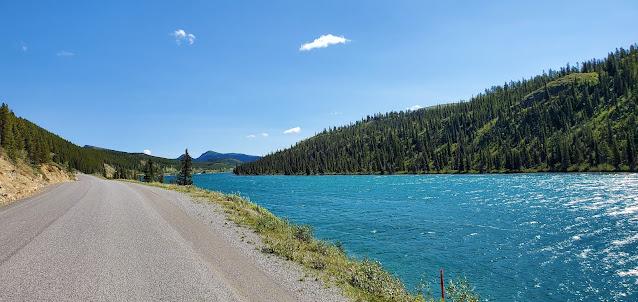 Summit Lake Alaska Highway British Columbia