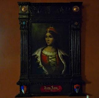 Замок Сент-Миклош. Портрет Илоны Зрини.