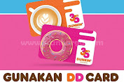 Promo DD Card Dunkin Donuts Periode Bulan Februari - Maret 2020
