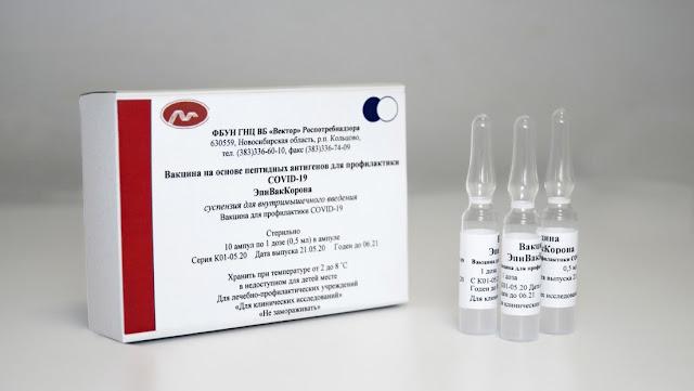 La vacuna rusa contra el coronavirus del centro Véctor no causó efectos secundarios en voluntarios