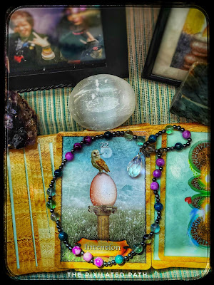Intention Card from The Enchanted Map Oracle Card Deck