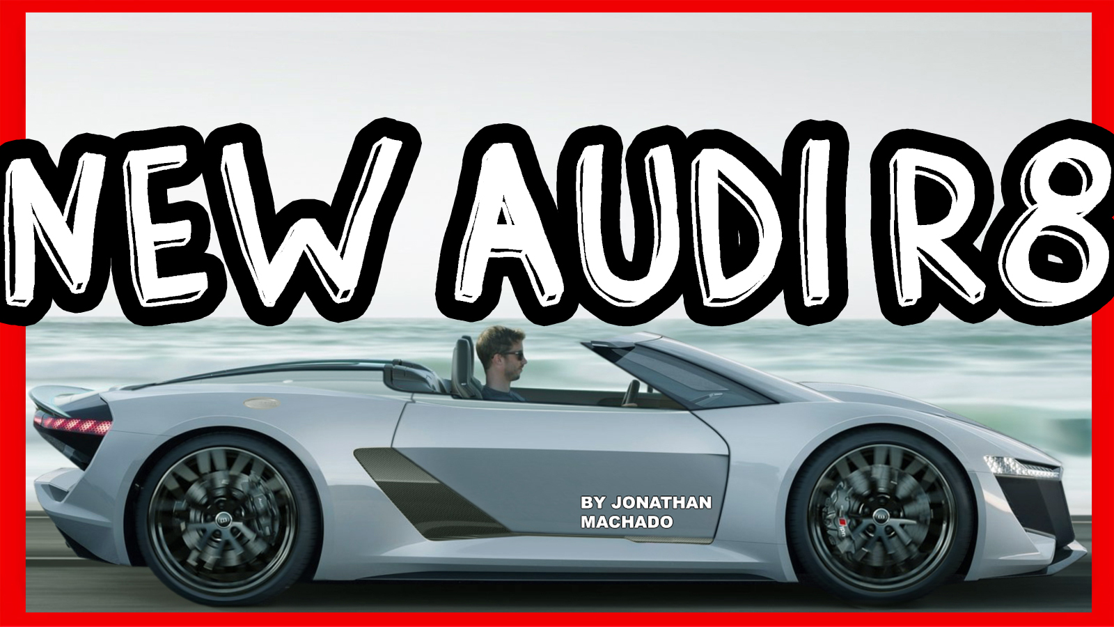 Photoshop All New 2020 Audi R8 Spyder Pb18 E Tron Concept Carwp