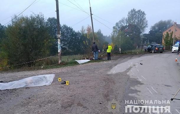 У Тернопільській області п'яний водій збив на смерть двох чоловіків