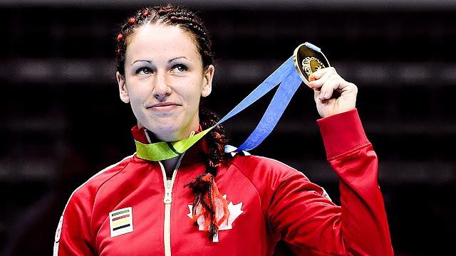 Mandy Bujold teve que entrar na justiça para conseguir vaga no boxe