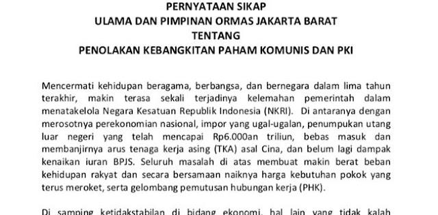 Gabungan Ormas Minta Jokowi Setia pada Pancasila dengan Tolak RUU HIP