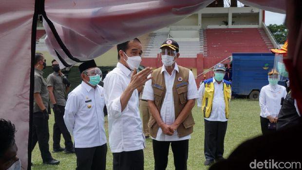 Ketua Satgas Doni Monardo Positif Covid-19 Usai Mendampingi Jokowi Tinjau Gempa Sulbar