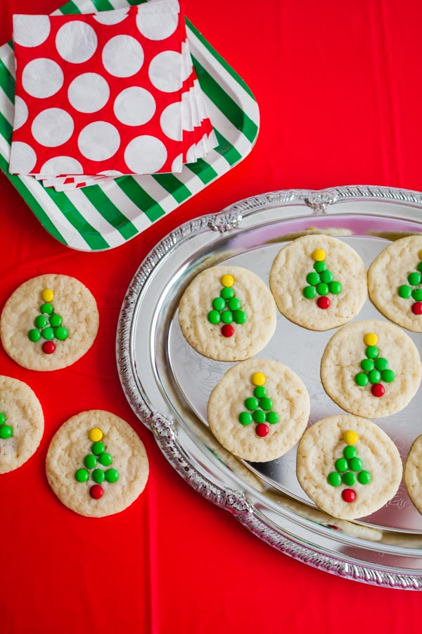 Adorable Christmas Tree Cookies!  So fun to make with the kids!  |  mynameissnickerdoodle.com