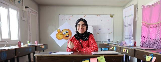 Breaking the code to helping Iraqi girls stay in school