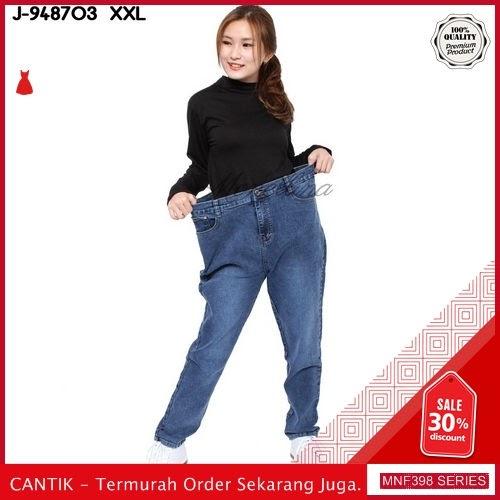 MNF398J82 Jeans 948703 Wanita Panjang Jumbo Xxl Skinny 2019 BMGShop