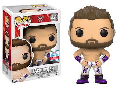New York Comic Con 2017 Exclusive WWE Zack Ryder Pop! Vinyl Figure by Funko
