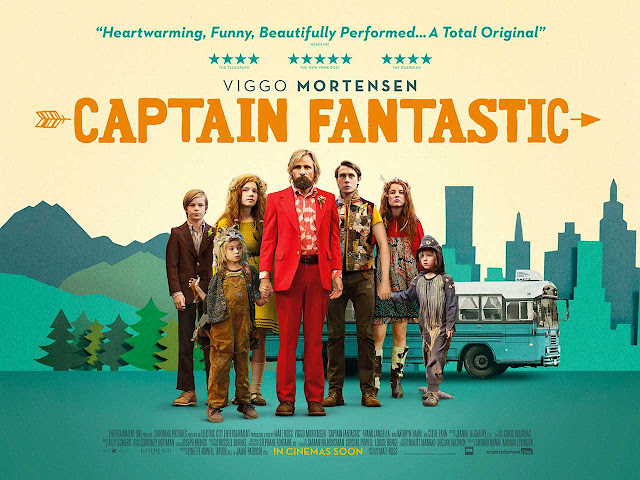 Captain Fantastic Film Poster