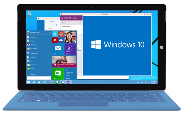 Microsoft Unveils Windows 10 - The Next Version Of Windows Operating system