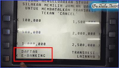 cara membuat internet banking