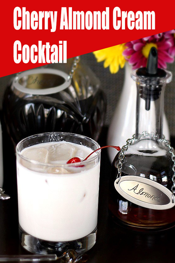 Cherry Almond Cream Cocktail