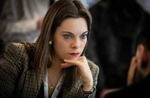 La plus francophile des joueuses d'échecs russes, Dina Belenkaya - Photo © David Llada