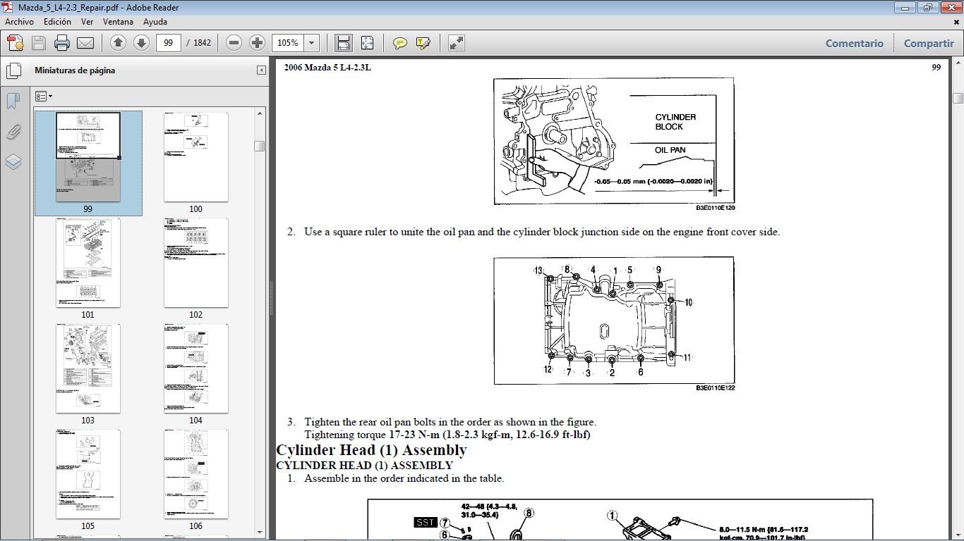 Manuales De Taller De Mazda  2020