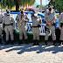 Polícia Militar promove homenagem alusiva ao Dia das Mães pelas ruas e bairros da Cidade de Goiás