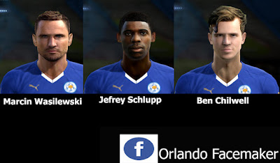 PES 2013 Mini Facepack Leicester City by Orlando FM