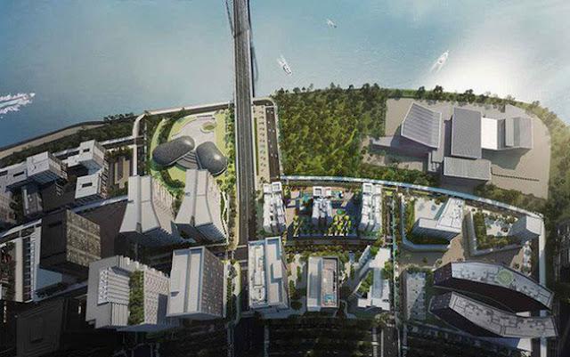 Phối cảnh dự án Metropole Thủ Thiêm