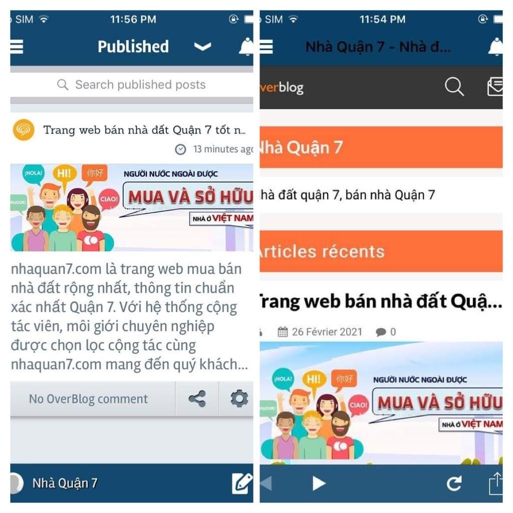 over-blog là app đăng tin tự động đăng bài lên FB, Twitter, LinkedIn