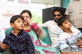 Sudheer Babu with his Family
