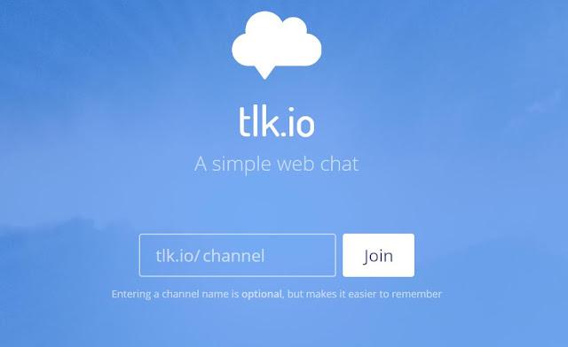 Cómo tener un chat privado sin registro con tlk.io