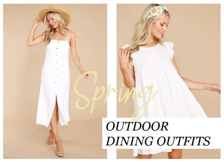 6 Outdoor Dining Outfits for Spring