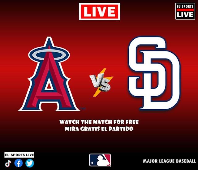 EN VIVO   Los Angeles Angels vs. San Diego Padres, juego de la MLB 2021 Estados Unidos   Ver gratis el partido