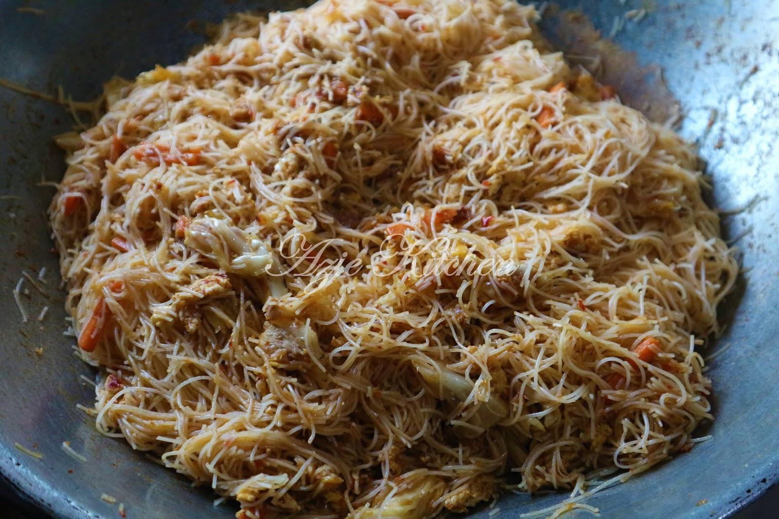 Mee Hoon Goreng Sedap Dan Mudah Azie Kitchen