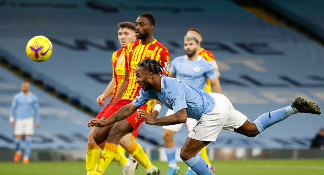 Highlights: Manchester City vs West Bromwich Albion Imbang 1–1