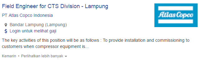 Info Lowongan Kerja Kabupaten Lampung Selatan 2019