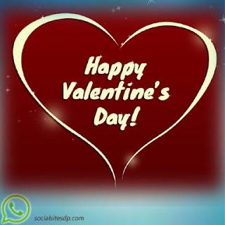 Happy Valentines day whatsapp dp wallpaper
