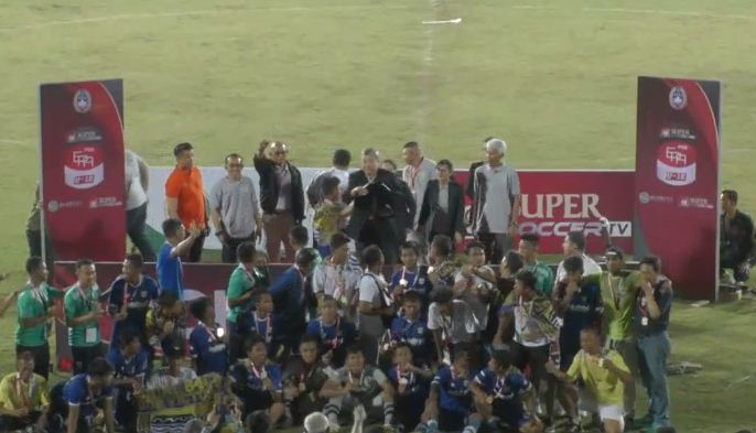 Persib Bandung U-16 Juara Elite Pro Academy 2018