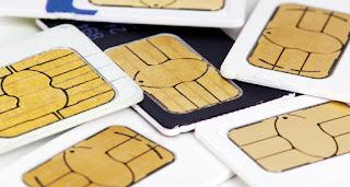 SIM card tidak terbaca rusak