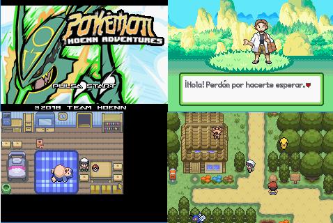 Pokemon Hoenn Adventures GBA ROM Download
