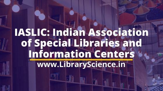 Indian Association of Special Libraries and Information Centers