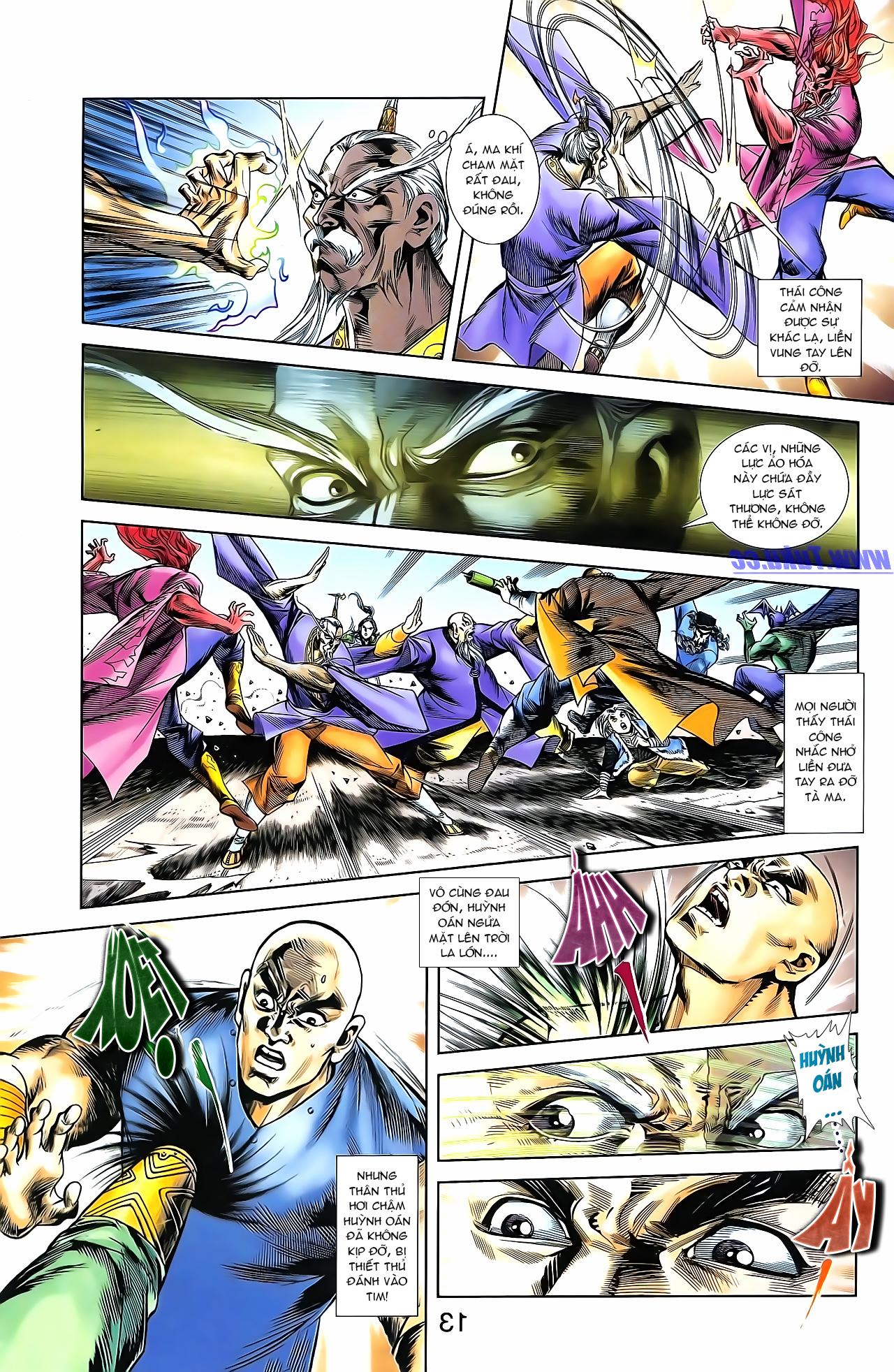 Cơ Phát Khai Chu Bản chapter 161 trang 23